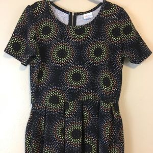 Lularoe Women's Dress Multi-color Size L
